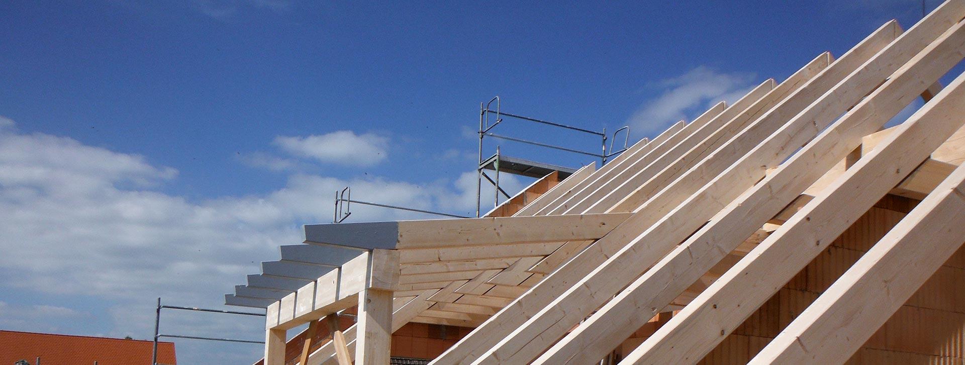 Zimmerei Roider bei Landshut - Massivholzhäuser, Sanierungen und mehr